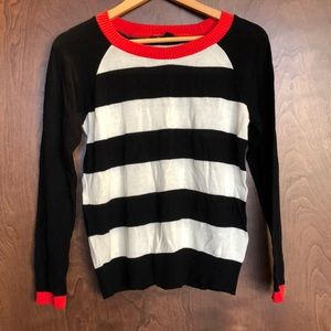 Striped sweater size small